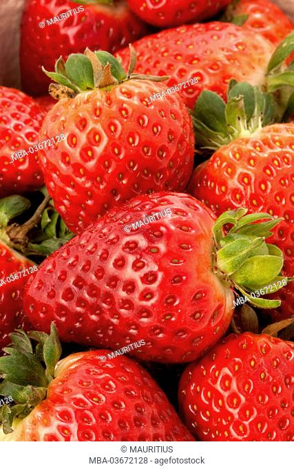 Still life, Food, fruit, berries, strawberries