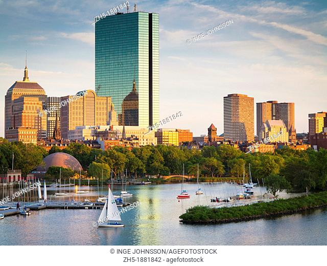 Boston and the Charles River as seen from Longfellow Bridge  Boston is the capital of and largest city in Massachusetts, and is one of the oldest cities in the...