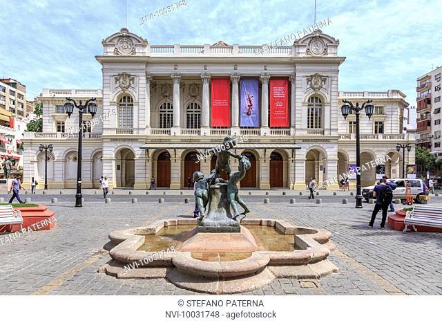 Teatro Municipal, Santiago, Chile, South America