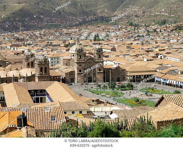 Plaza de Armas, Cuzco. Peru