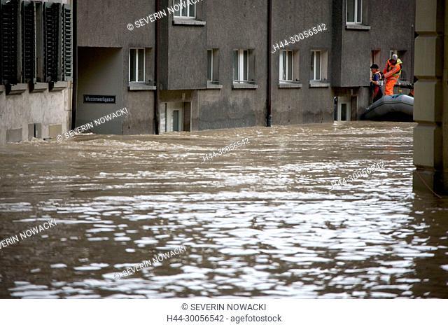 Matte, Hochwasser in Bern