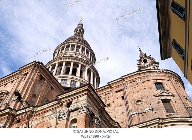 San Gaudenzio Basilica dome in Novara, Piedmont, Italy