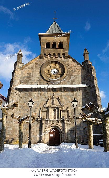 Church of Burguete, Navarra, Spain