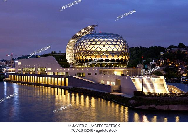 La Seine musicale, Seguin isle, Boulogne Billancourt, Ile-de-france, France