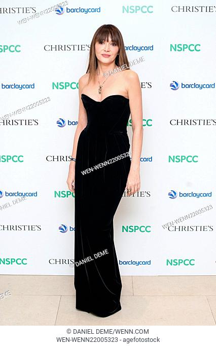 Paddington Trail auction held at Christie's in London - Arrivals Featuring: Annabelle Neilson Where: London, United Kingdom When: 10 Dec 2014 Credit: Daniel...