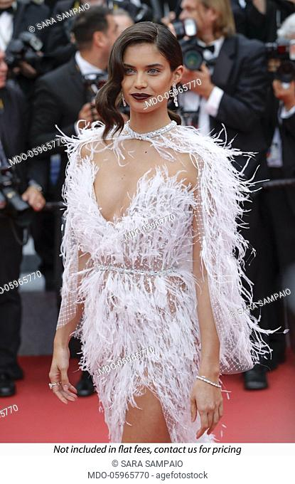 Sara Sampaio at the 71st Cannes Film Festival. Cannes, France, May 16, 2018