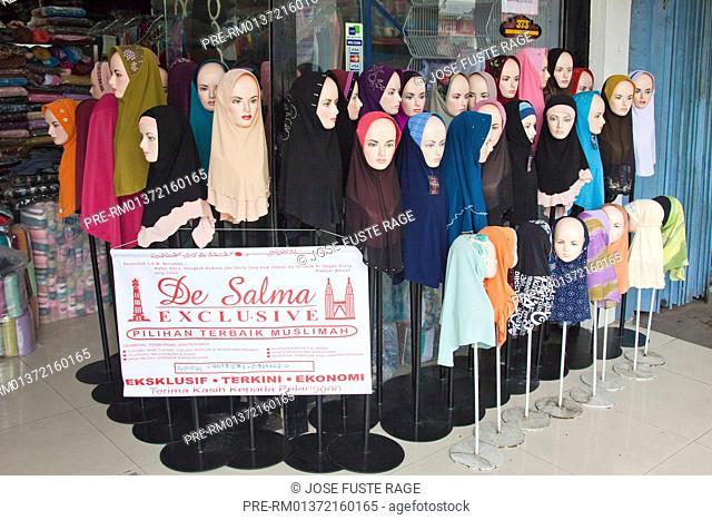 Tudung Moslem Scarf, Kuala Lumpur, Malaysia, November 2010