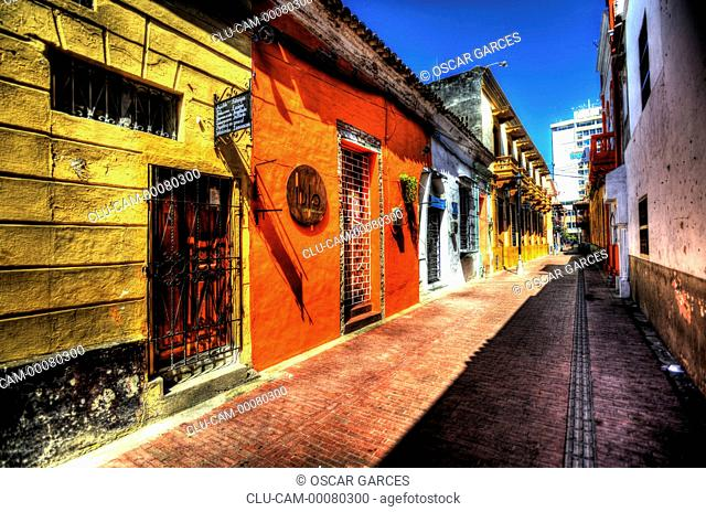 Historical Center, Santa Marta, Magdalena, Colombia