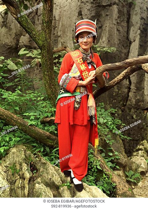 Traditional costumes, China