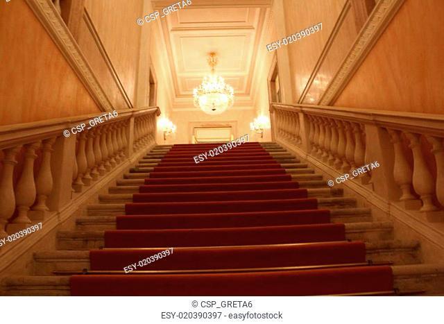 La Fenice Theatre, stairs