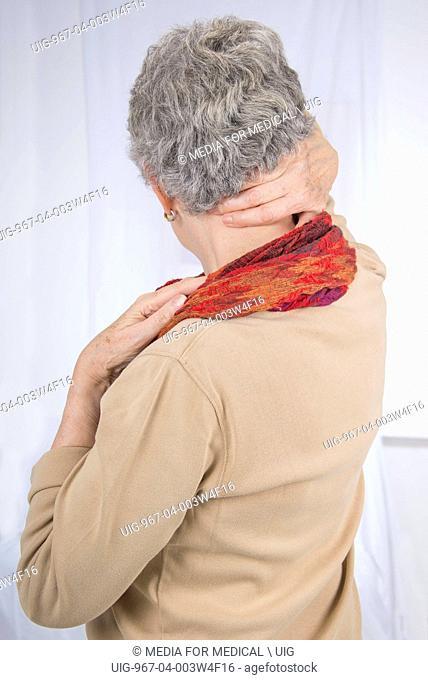 Nape of the neck pain senior