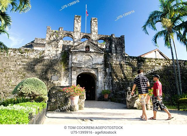 san pedro fort, cebu city, philippines