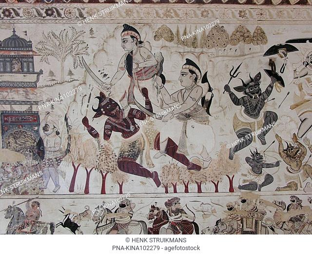 Laksmi Narayantemple, Orchha, Tikamgarh, Madhya Pradesh, India, Asia