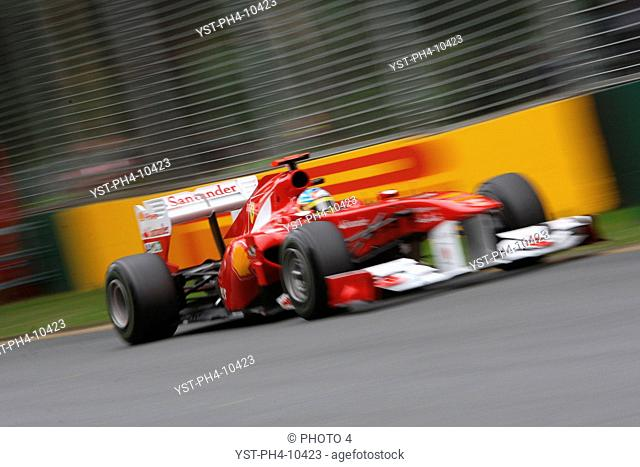 Racing, Qualifying, Fernando Alonso, Australian Grand Prix, Melbourne, Australia