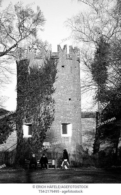 Watchtower on Notzentor in Memmingen