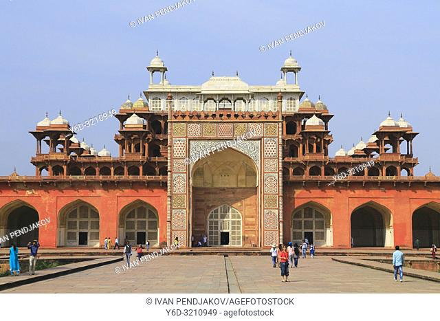 Tomb of Akbar the Great, Agra, Uttar Pradesh, India