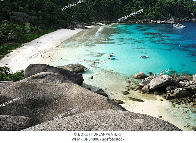 Donald Duck Beach, Similan Islands, Andaman Sea, Thailand