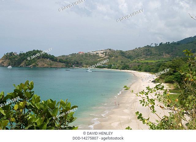 Thailand, Ko Lanta, Ao Kantiang, View of beach