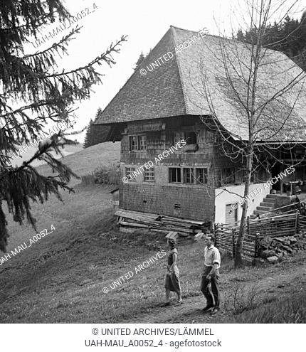 Ein Ausflug in den Südschwarzwald, Deutsches Reich 1930er Jahre. A trip to the Southern Black Forest, Germany 1930s