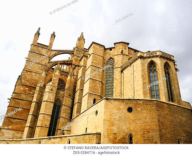 Cathedral of Santa Maria of Palma (Cathedral of St. Mary of Palma), more commonly referred to as La Seu is a Gothic Roman Catholic cathedral located in Palma de...