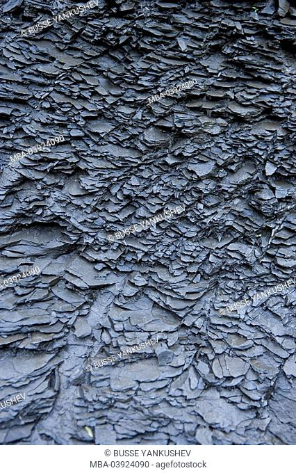 Austria, Vorarlberg, Dornbirn, Ebnit, clay-sediments, slates