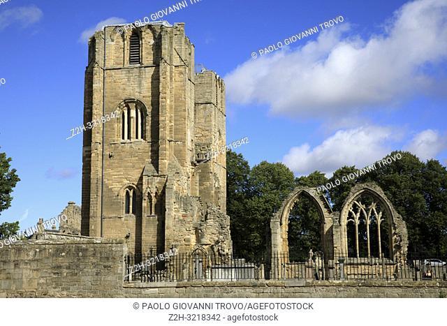 Ruins of Elgin Cathedral, Elgin, Moray, Grampian, Scotland, Highlands, United Kingdom