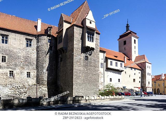 Strakonice, South Bohemia, Czech Republic, Medieval Gothic Castle,