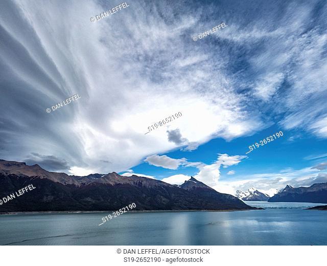 Clouds Over Glaciar Perito Moreno