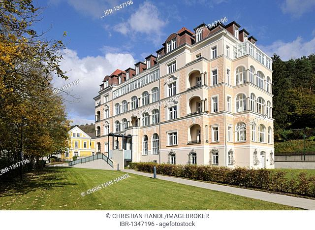 D'Orange residential apartments in Neuhaus, Triesting Valley, Lower Austria, Austria, Europe