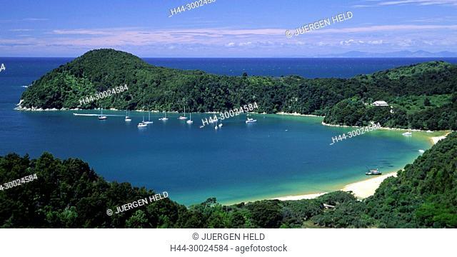 Tobago, Charlotteville, Pirat's bay, sailing ships