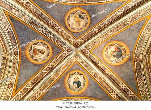 Florence, Farmaceutica di Santa Maria Novella, sacristy