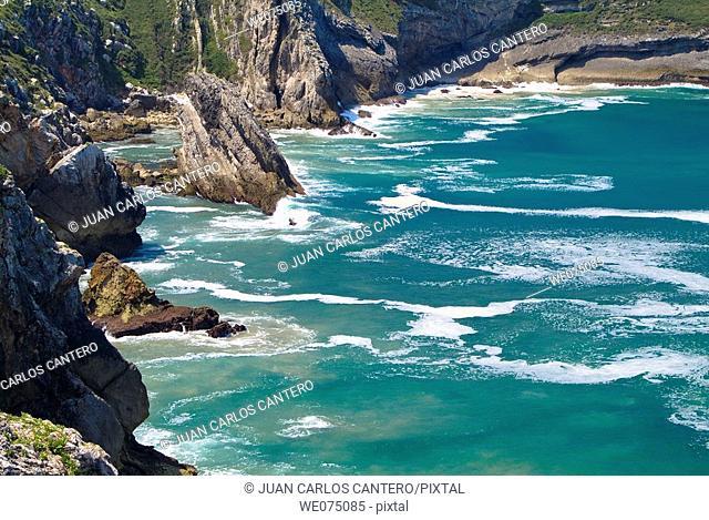 View from Paseo de San Pedro, Llanes. Asturias, Spain