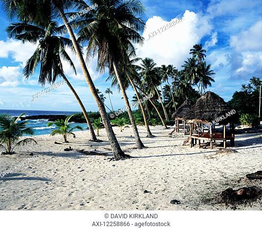 Beach on the most Westerly point of Savaii; Savaii Island, Samoa