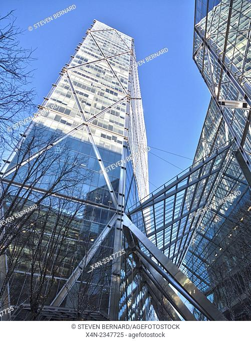 Broadgate Tower, London, UK. Developed by British Land
