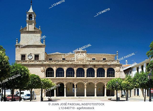 San Clemente, Provincia de Cuenca, Castilla la Mancha, Spain Ayuntamiento Viejo Museo de Obra Gráfica Fundación Antonio Pérez