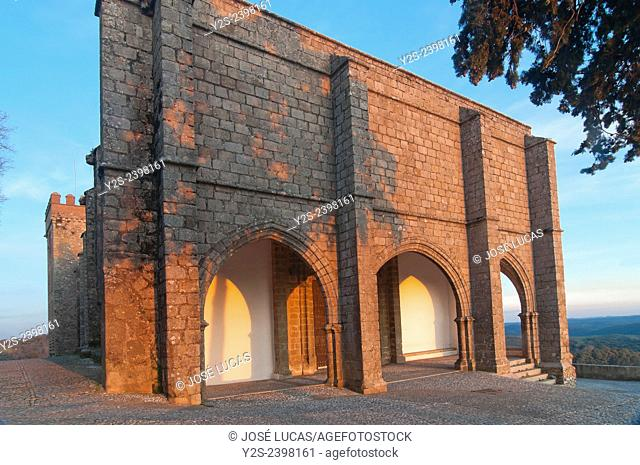 Priory Church of the Castle-15th century, Aracena, Huelva province, Region of Andalusia, Spain, Europe