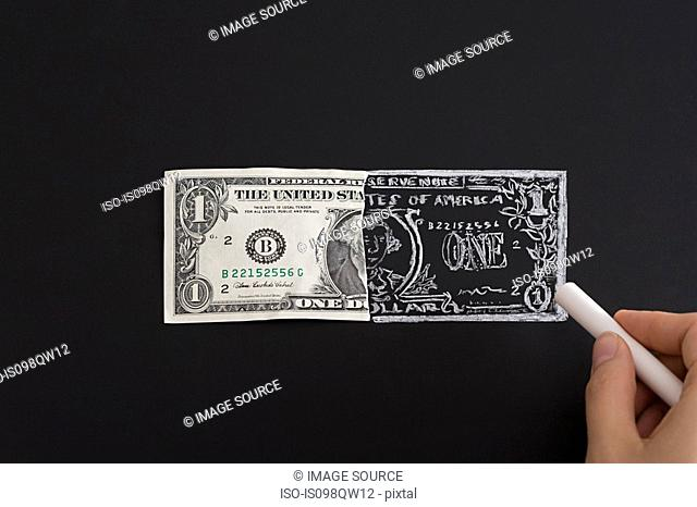 Counterfeiting money