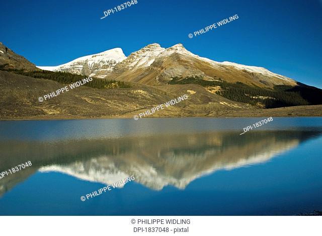 Sunwapta Lake, Jasper National Park, Canada