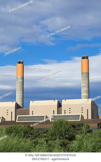 New Zealand, North Island, Huntly, Huntly Power Station