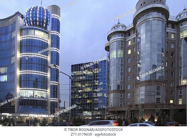 Kazakhstan; Almaty, Dostyk Avenue,