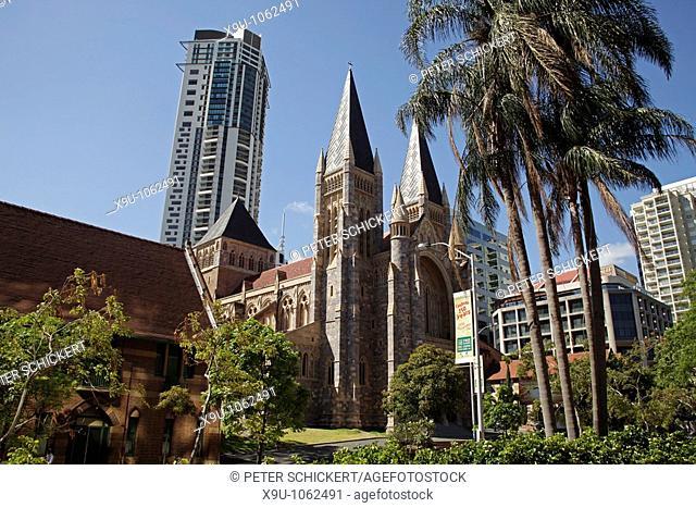St  John's Cathedral in Brisbane, Queensland, Australia