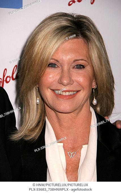 "Olivia Newton-John 01/18/09 """"G'Day USA Australia Week 2009 Black Tie Gala"""" @ Hollywood & Highland, Hollywood Photo by Megumi Torii/HNW / PictureLux File..."