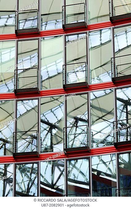 Germany, Berlin, Potsdamer Platz, Sony Center