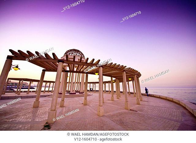 Corniche, Kuwait, Kuwait City, Arabian Gulf Street