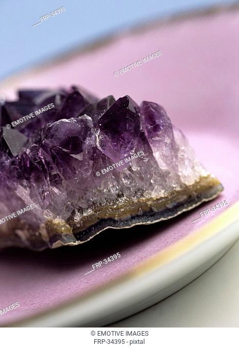 Healing stone amathyst