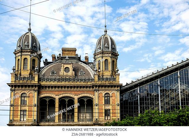 Budapest Keleti railway station (Hungarian: Budapest Keleti pályaudvar) is the main international and inter-city railway terminal in Budapest, Hungary