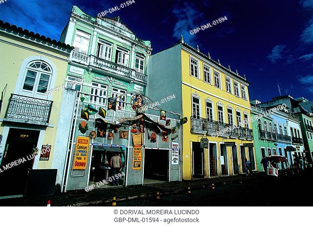 Store, Sé Square, Salvador, Bahia, Brazil