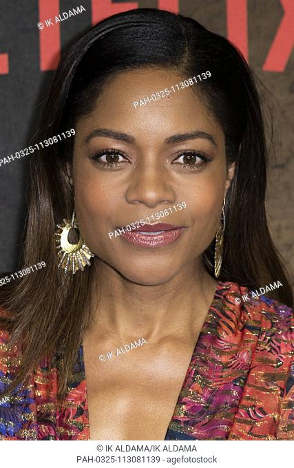 Naomie Harris attends Special Screening of MOWGLI Legend of The Jungle. London, UK. 04/12/2018 | usage worldwide. - London/United Kingdom of Great Britain and...