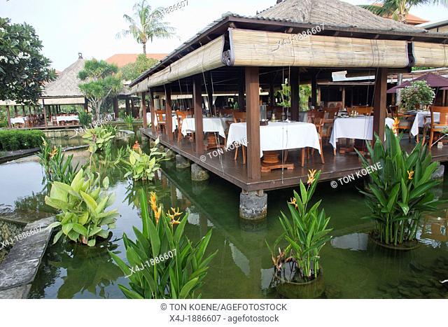restaurant at Bali, Indonesia