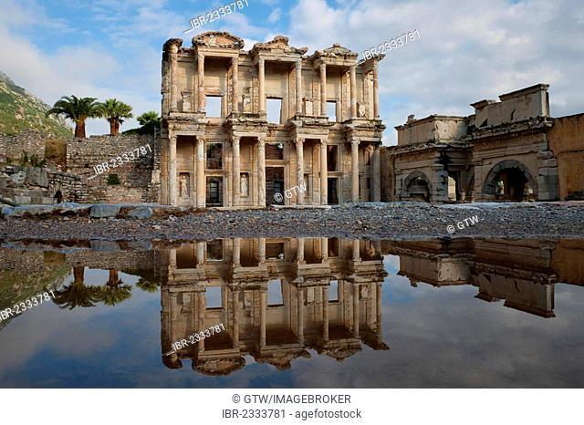 Celsus Library, Ephesus, Izmir Province, Turkey